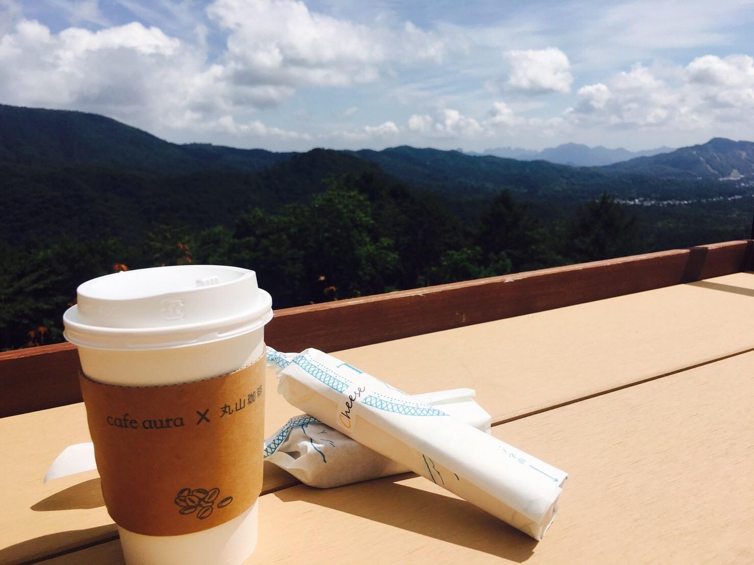 軽井沢の絶景カフェに行って来ました☆